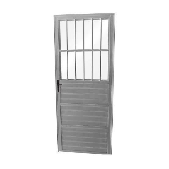 Grade de alumínio para porta