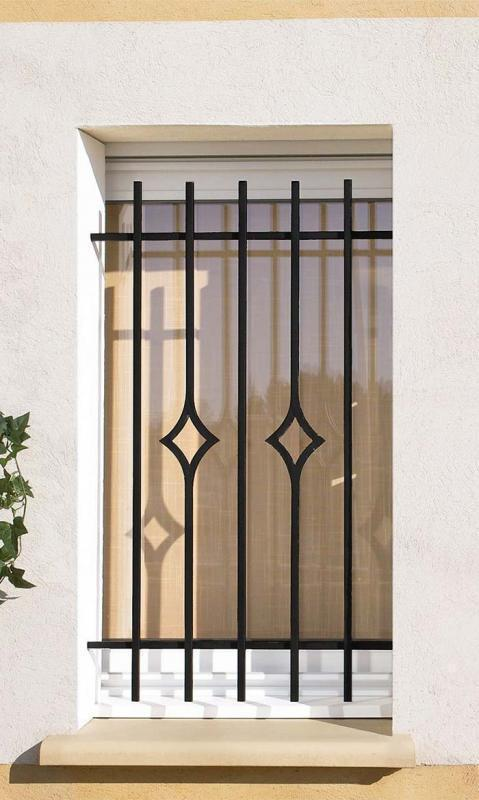 Grade de ferro para janela valor