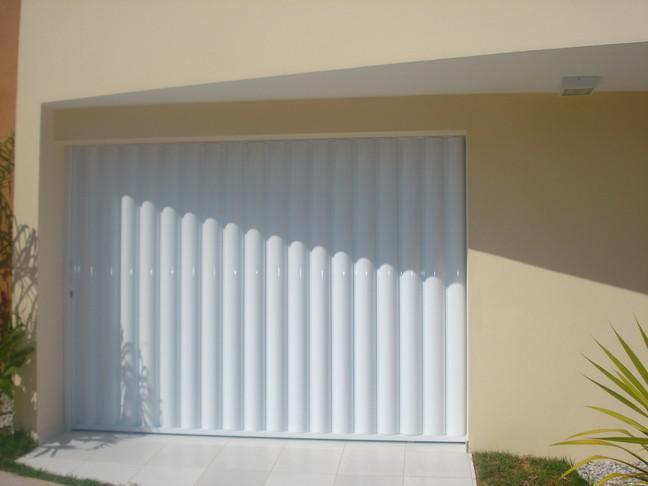 Portão de ferro branco valor