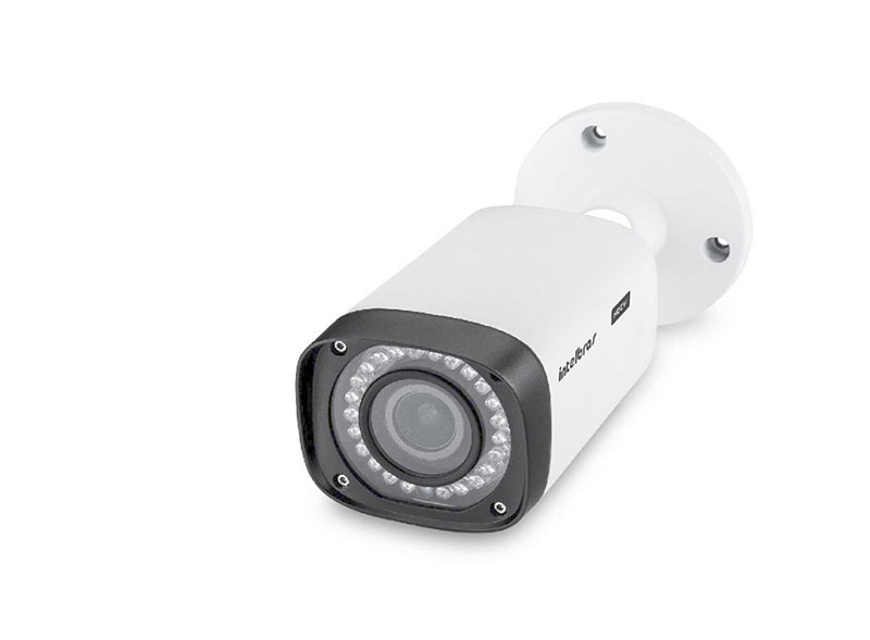 Sensores e câmeras de segurança